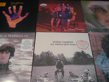 GEORGE HARRISON ALL THINGS MATERIAL BRAINWASHED & EARLY TAKES LIMITED LP SET