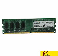 Crucial Technology 2GB DDR2 800  PC2-6400 DDR2 DIMM - CT25664AA800 For Desktop