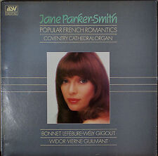 JANE PARKER-SMITH: Popular French Romantics-M1985DGTL LP UK IMP VIERNE/BONNET+++