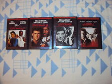 Lethal Weapon 1-4    Mel Gibson, Danny Glover  4 DVD´s im Snappercase