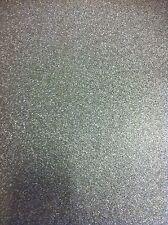 MURIVA Glitter Vinyl Heavy Wallpaper 701352 Silver