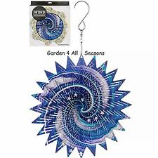 "6""/15cm GALAXY Stainless Steel Wind Spinner Sun Catcher Hook Garden Gift Pack"