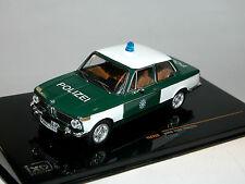 IXO CLC255, BMW 2002, 1972, POLIZEI BAYERN, 1/43