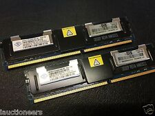 HP 398708-061 NANYA 8GB (2x4GB) PC2-5300F DDR2-667 ECC RAM NT4GT72U4ND1BD-3C