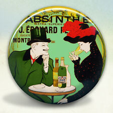 Absinthe Couple Pernod Pocket Mirror tartx
