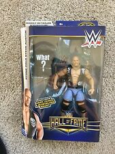 Mattel WWE Elite Hall of Fame 2009 Stone Cold Steve Austin WHAT? Cheap Intl Ship
