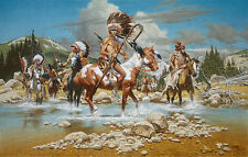 """""""The Chiefs"""" Frank McCarthy Limited Edition Giclee Canvas"""