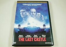 The Last Castle DVD Robert Redford, James Gandolfini, Mark Ruffalo, Delroy Lindo