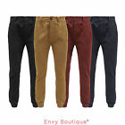 NEW MENS D-STRUCT SLIM FIT CUFFED HEM ANKLE CHINO JEANS TROUSERS SIZES 28 - 36
