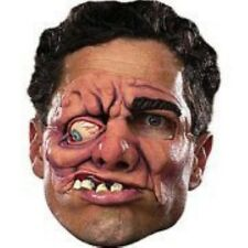 CHINLESS FACE MASK PIECE VINYL MUTANT ZOMBIE CREEPY DISFIGURED SCARY ADULT  NEW