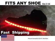 "LIGHT up ""YOUR"" shoes kit fits Mens or Womens Puma size  7 8 9 10 11 12 13 14"