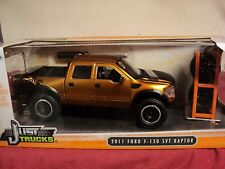 Jada 2011 Ford F-150 SVT Raptor pickup truck  NIB w/extra wheels in box copper