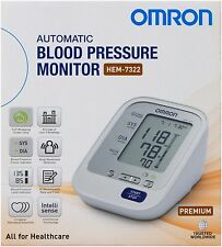 OMRON PREMIUM BLOOD PRESSURE MONITOR HEM 7322 (REPLACES 7211) INTELLISENSE