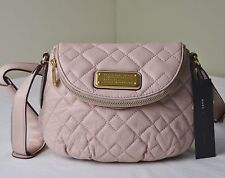 Marc By Marc Jacobs Dusty Bloom Quilted Leather Natasha Crossbody Messenger
