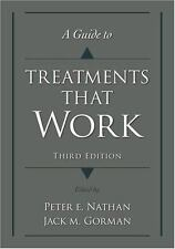 A Guide to Treatments That Work 2007 Mental Illness disorders therapy evaluation