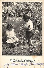BG4751 boy girl children ostern easter   germany  greetings
