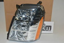 2007-2009 Cadillac Escalade EXT ESV LH Driver Side Headlamp new OEM 19352127