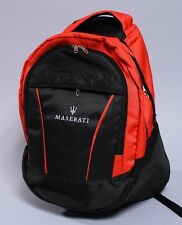 NEW MASERATI BLACK BACKPACK BAG spyder quattroporte gransport flag