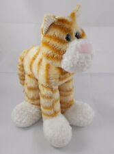 """First & Main Lankydoodle Tabby Cat Plush 10"""" tall"""