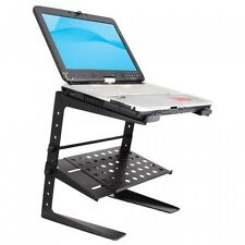 Pyle-Pro Laptop Computer Stand for DJ with Storage Shelf, PLPTS26, New