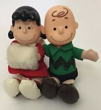 United Feature Syndicate Peanuts Charlie Brown Lucy Dolls McDonald's Japan 10""