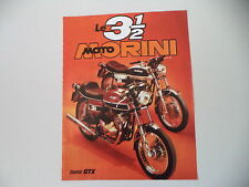 advertising Pubblicità 1975 MOTO MORINI 350