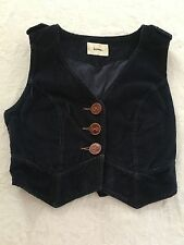 Lover The Label Navy Blue Cord Waistcoat