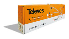 TELEVES 149290 KIT ANTENNA V ZENIT TELEVES + AMPLIFICATORE PALO 536041 + ALIMENT
