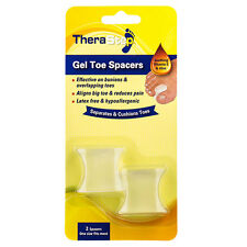 TheraStep™ Gel Toe Spacers  Cushion, protect and reduce foot pain and pressure