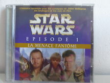 CD Album BO Film OST Star wars Episode 1 Menace fantome JOHN WILLIAMS 604592