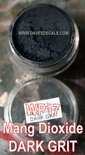 WP17 DAVART DAVE'S WEATHERING POWDERS ALL NATURAL PIGMENT MANGANESE DIOXIDE