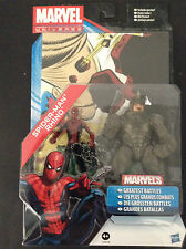 "Marvel - Spiderman & Rhino - 3.75"" figures with poster - BNIB"