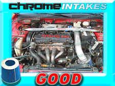BLUE 95-99 MITSUBISHI ECLIPSE/EAGLE TALON 2.0 2.0L I4 NON-TURBO AIR INTAKE KIT