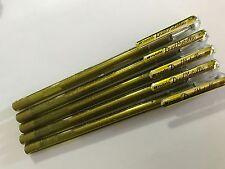 Pentel Hybrid 1.0 mm Dual Metallic liquid gel pen - Gold  x 5 pcs