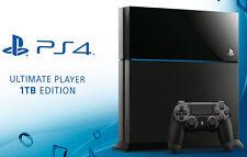 SONY PLAYSTATION 4 PS4 1TB NERA NUOVA 1000GB SOTTO COSTO ! 1 TB
