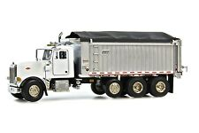 Sword Peterbilt 357 Rigid w/East Genesis Dump Body - White 1/50 Die-cast MIB New