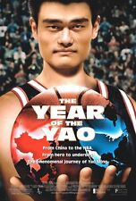 The Year Of The Yao  movie poster  : 11 x 17 inches : Yao Ming - Original