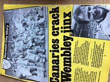 T1-2 ephemera 1985 football norwich city win milk cup