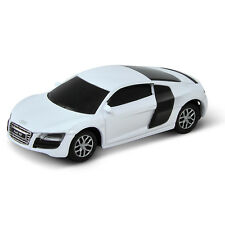 CHIAVETTA USB AUDI R8 V10 8GB BIANCA FLASH DRIVE PENDRIVE OFFICIAL IDEA REGALO