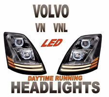 VOLVO VNL  PROJECTOR HEADLIGHT SET DAYLIGHT RUNNING LIGHT LED  -