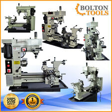 "NEW Bolton Tools 16"" x 20"" Precision Combo Metal Lathe Mill Drill Machine BT500"