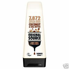 Original Source Coconut & Shea Butter Shower Body Wash Gel 250ml