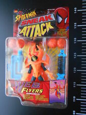 ★ Sneak Attack Web Pumpkin Bomb Flyers Spider-Man Action Figure Hobgoblin ★