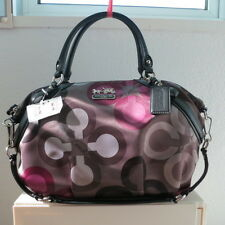 NWT COACH MADISON CLOVER LARGE SOPHIA BAG 15926 GREY MULTICOLOR