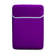 Deep Purple Lycra Soft Sleeve Case Bag For MacBook Pro 13.3 inch