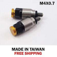 Fork Bleeder Valve KTM SX XC EXC 125/150/200/250/300/350/400/450-M4x0.7 gold bt