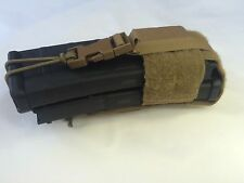 coyote brown Pouch Double M4 Mag Ar15 Molle II Radio Gps Military Vest New
