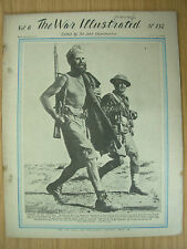 WAR ILLUSTRATED MAG No 132 JULY 10th 1942 FREE FRENCH TROOPS IN BIR HACHEIM