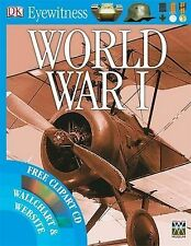Simon Adams Eyewitness World War I (With Clipart CD) Very Good Book