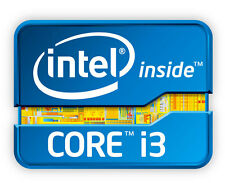 Intel Inside TM core i3 adesivo etichetta sticker 2cm x 2cm